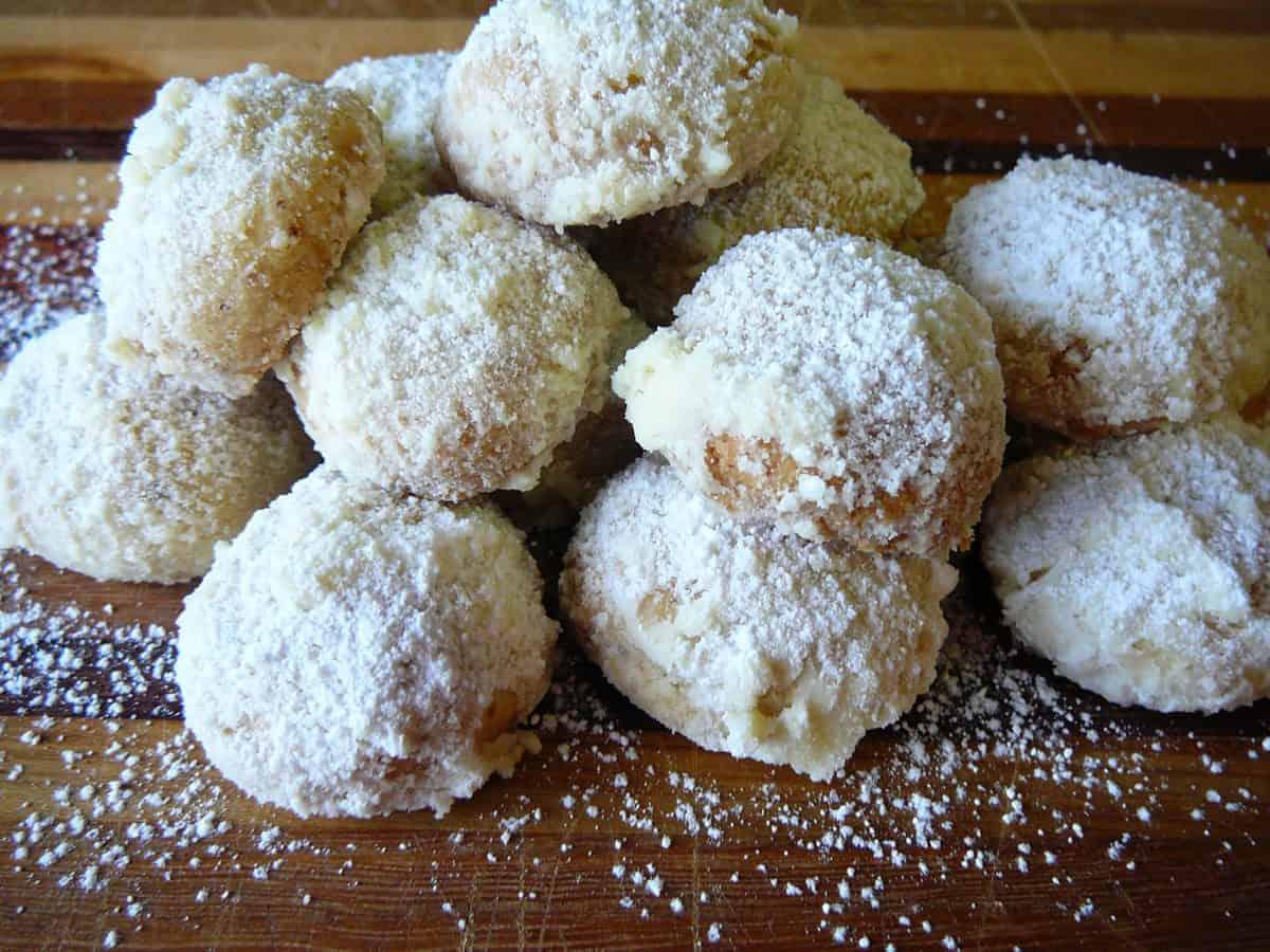 Norwegian Walnut Butter Cookies