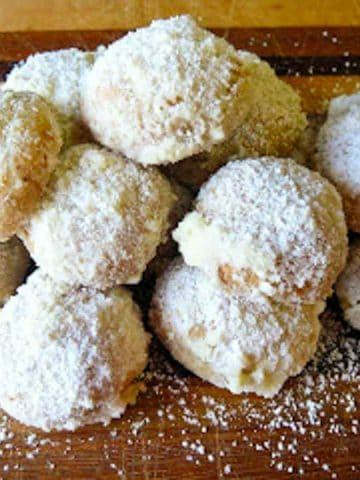 pile of sugar coated cookies