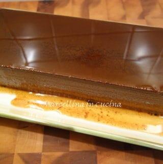 Bunet dessert from Piedmont