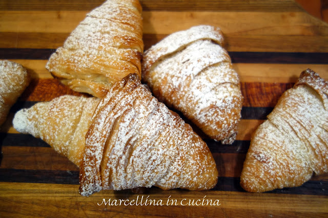 SFOGLIATELLE – THE DARING BAKERS' NOVEMBER, 2013  CHALLENGE