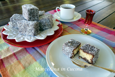 Lamingtons – May 2015 Daring Bakers Challenge
