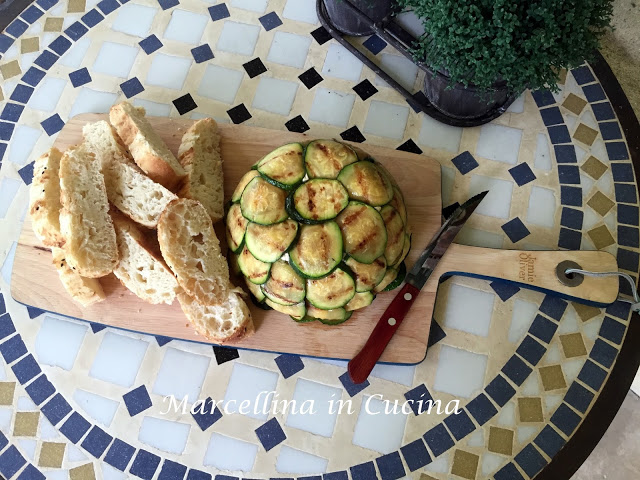 Zucchini, Dried Tomato and Black Olive Charlotte – Daring Bakers Challenge June 2015