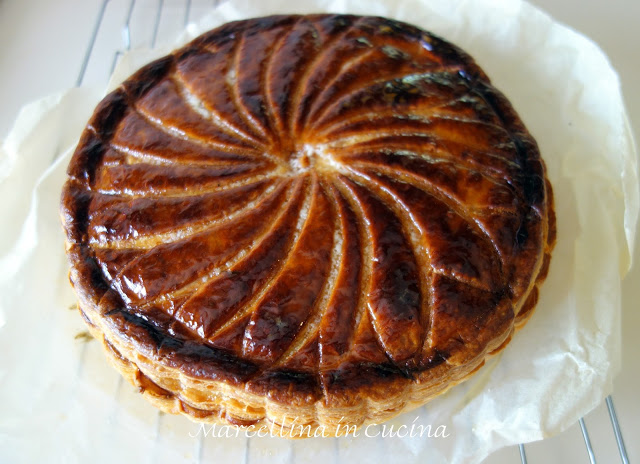Gateaux Pithiviers – December 2015 daring bakers' challenge