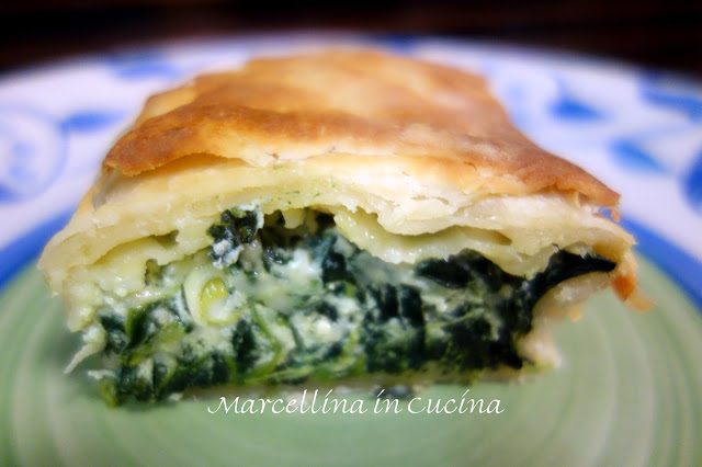 Spinach and Cheese Katmer Pie