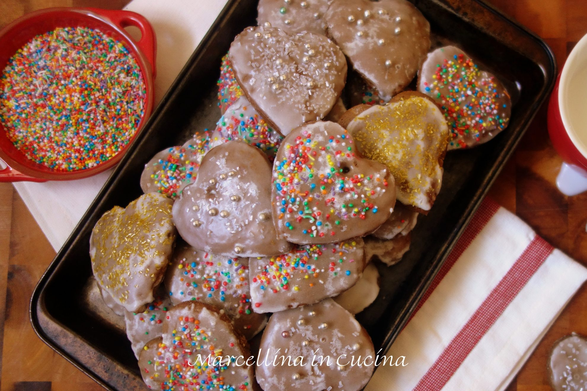 Lebkuchen Is A Delicious Spicy Christmas Cookie From Germany
