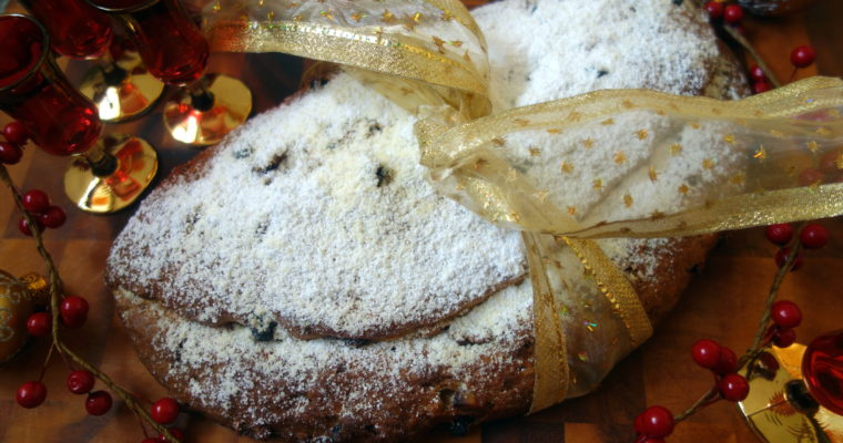 Merry Christmas and a festive Stollen