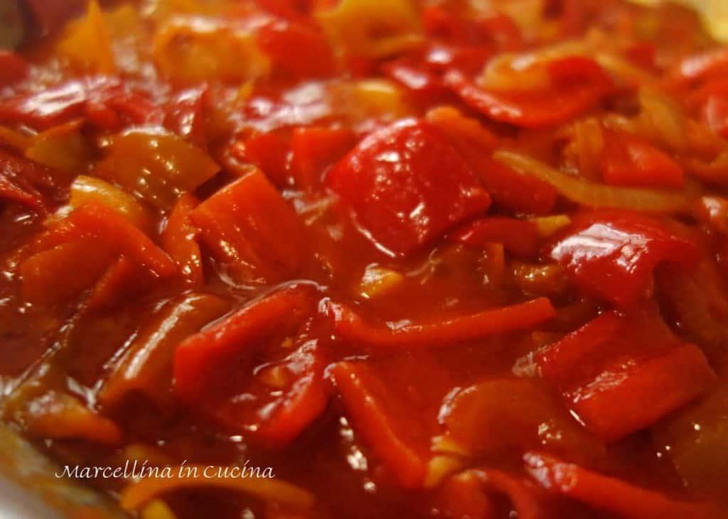 Peperonata - Italian pepper stew