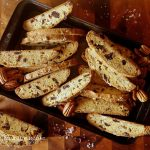 Salted Cranberry and Pecan Biscotti
