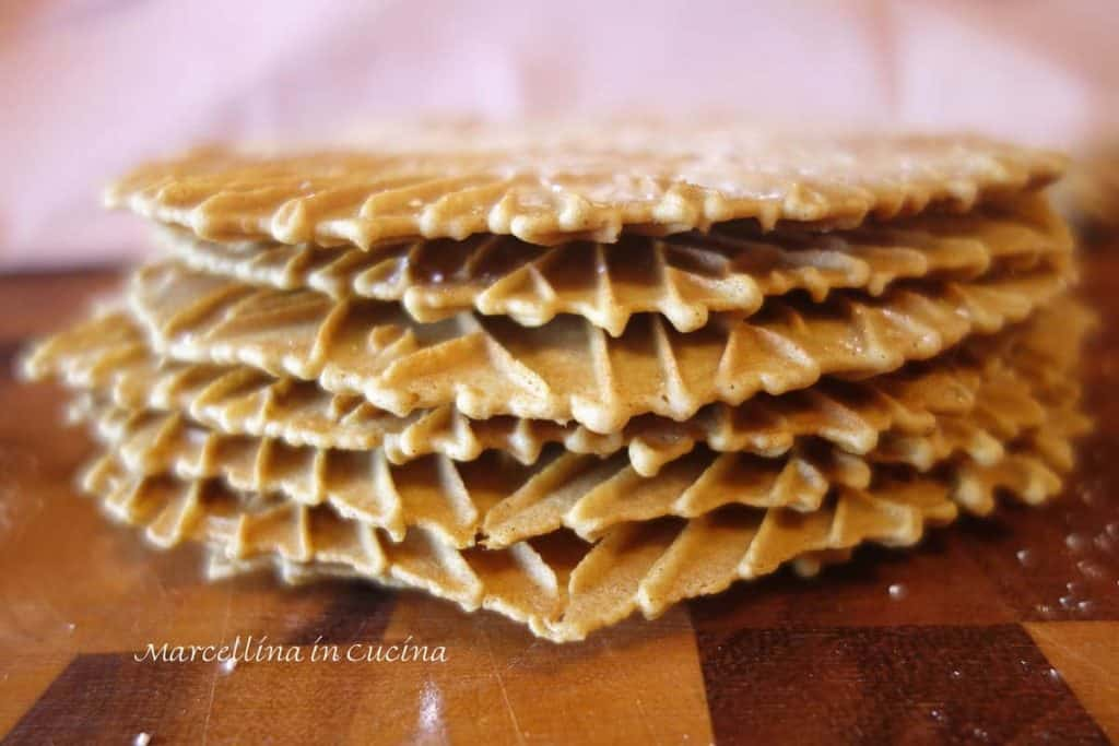Gingerbread Pizzelle