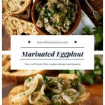 Marinated Eggplant Pin