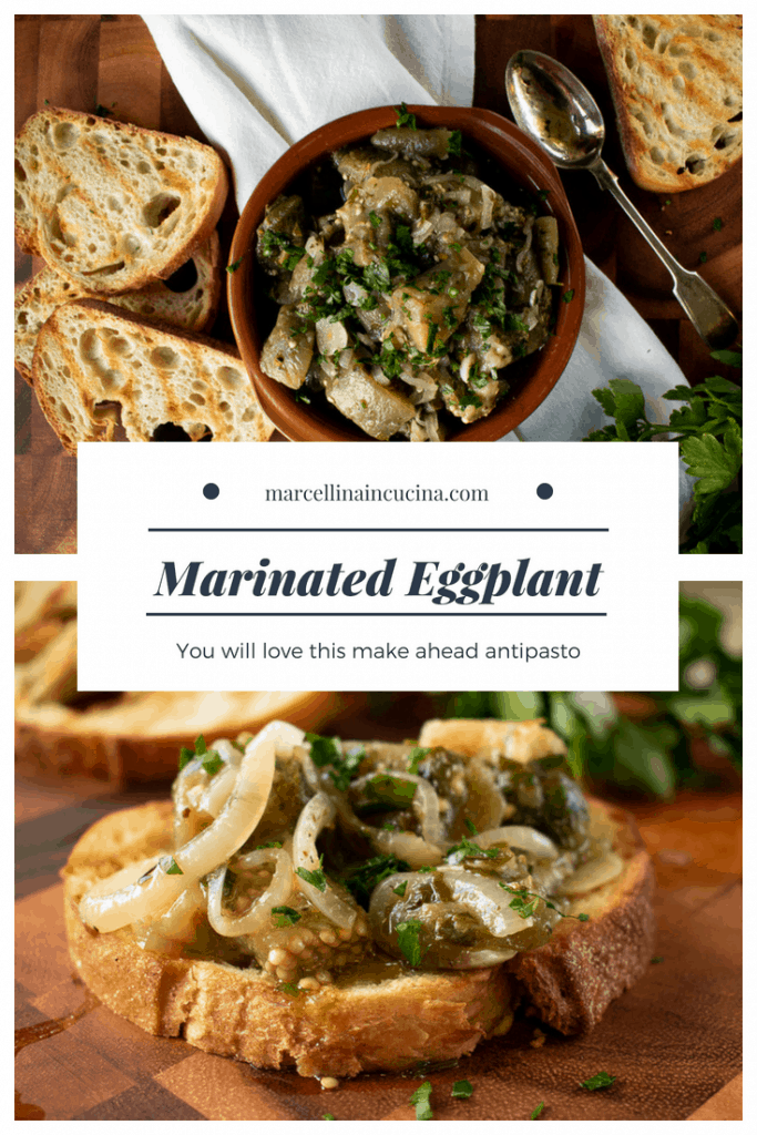 Marinated Eggplant Pin