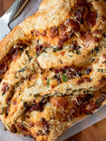 Baked Pizza Bread