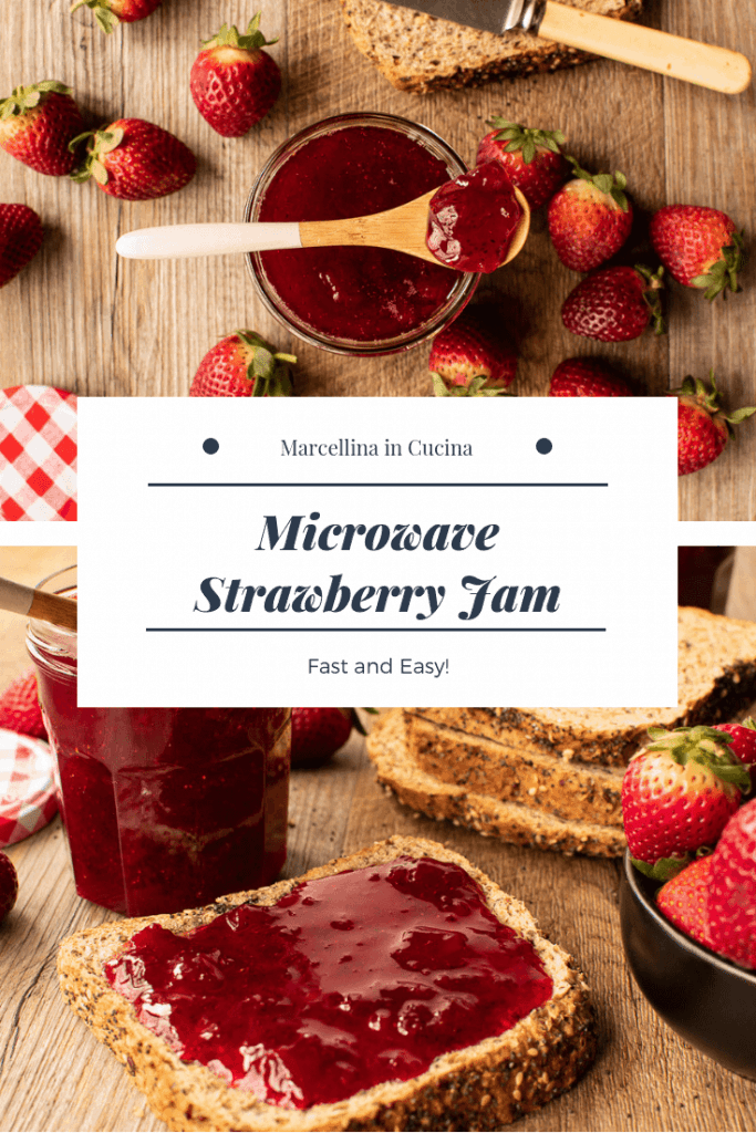 How to make Microwave Strawberry Jam