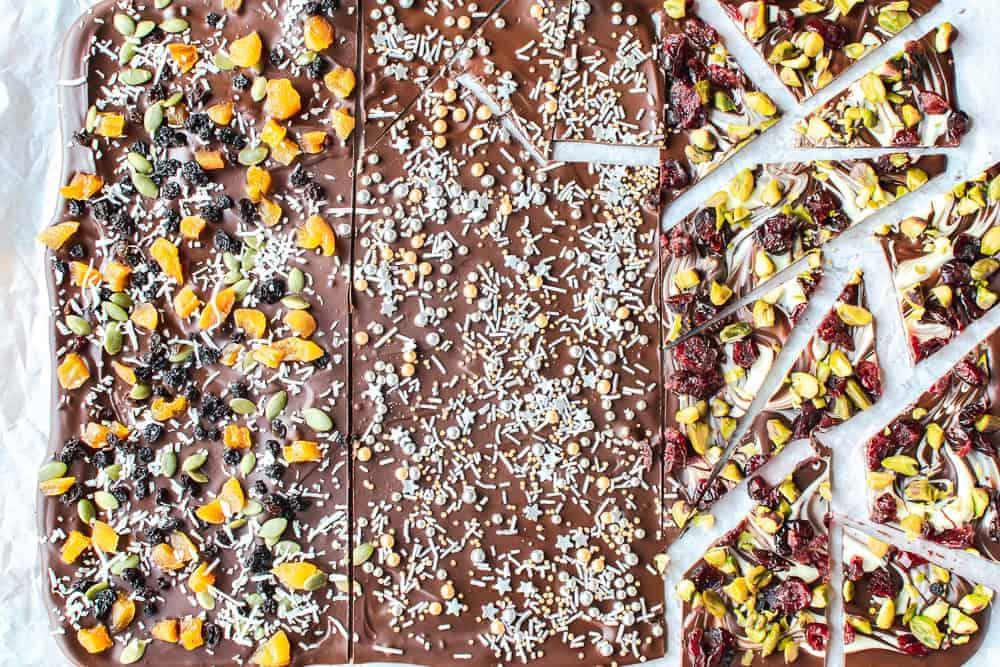 Varieties of Chocolate Bark