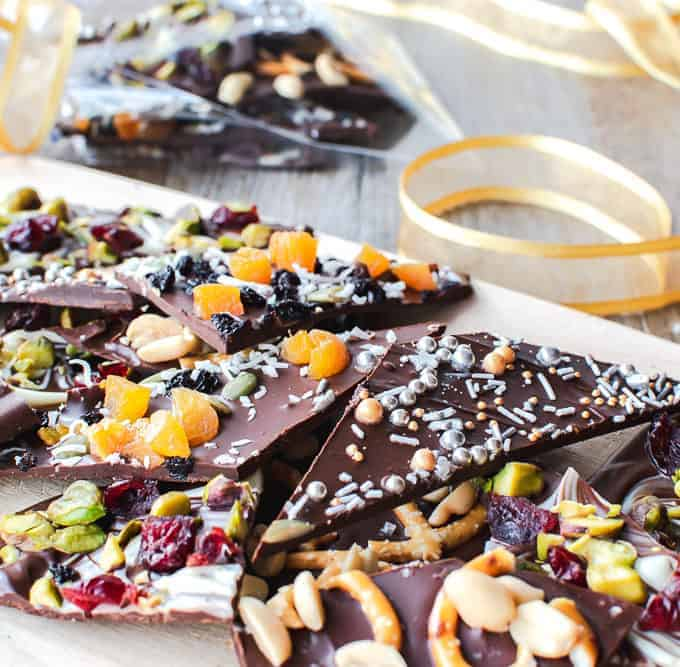 Varieties of Chocolate Bark