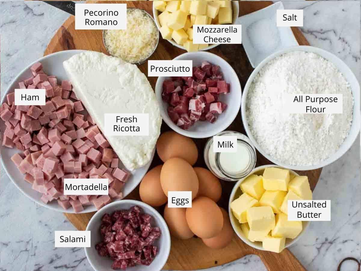 italian pie ingredients.